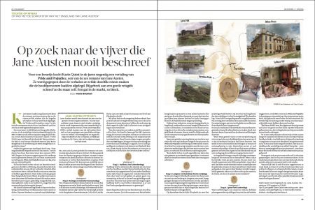 One of the leading national newspapers, De Volkskrant, devoted two pages to the guidebook.